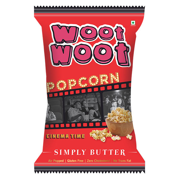 Woot Woot Popcorn simply butter